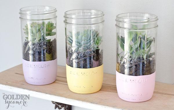1painted-mason-jar-succulent-planter-6