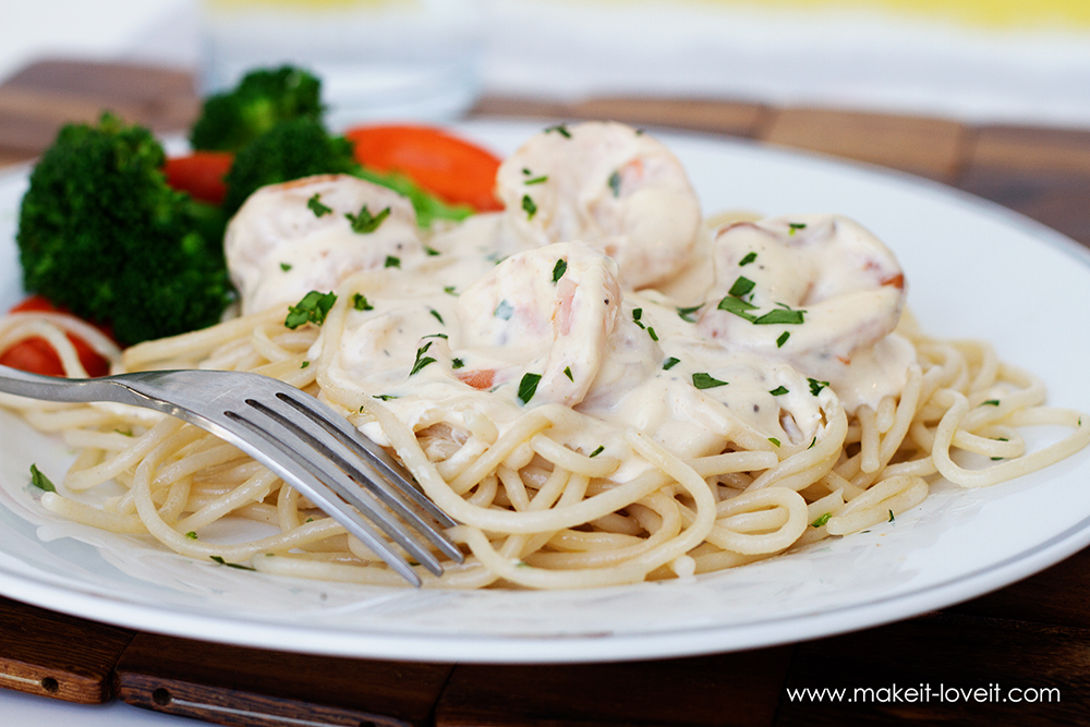 Creamy Shrimp Scampi (4)