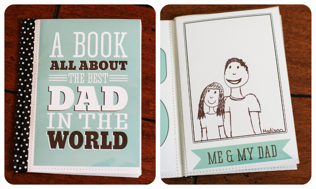 fathers day free printable book