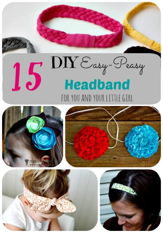 Easy-Peasy Headband