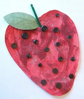 Sweet and Juicy Strawberry Craft Ideas