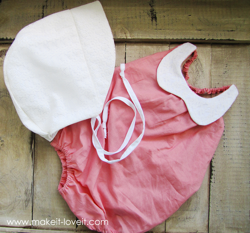 Collared Baby Romper Tutorial | via Make It and Love It