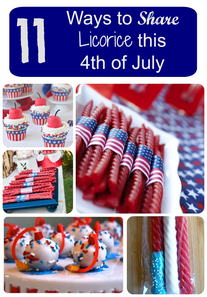 11 Ways to Share Licorice this 4th of July