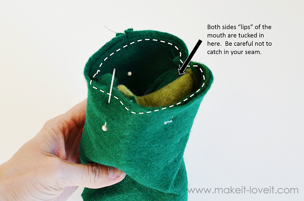 make your own felt animal hand puppets (1)