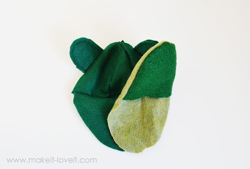 make your own felt animal hand puppets (13)