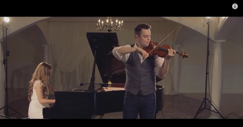 only one violin