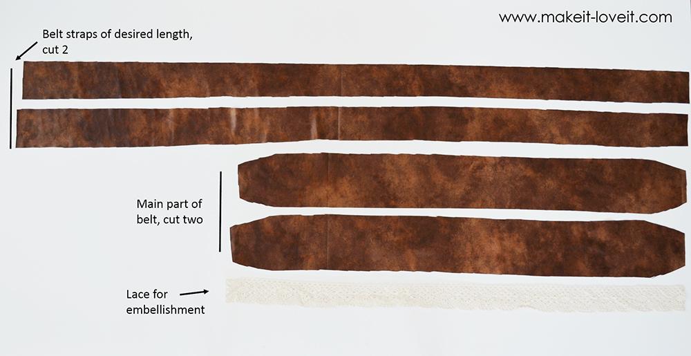 reversible wrap belt (18)