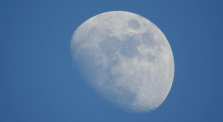 shot of moon