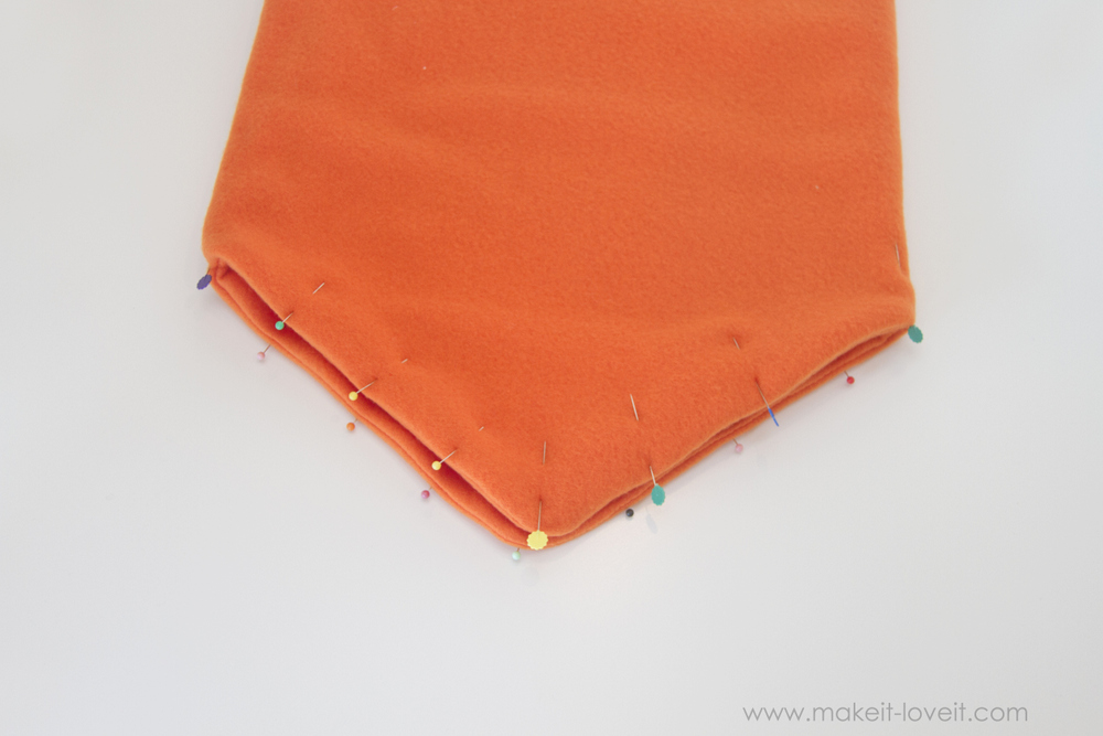 DIY Carrot Costume 21