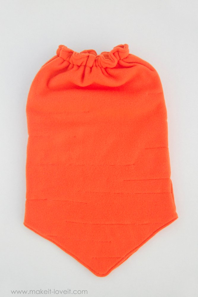 DIY Carrot Costume...a simple and unique costume for any age! | via Make It and Love It