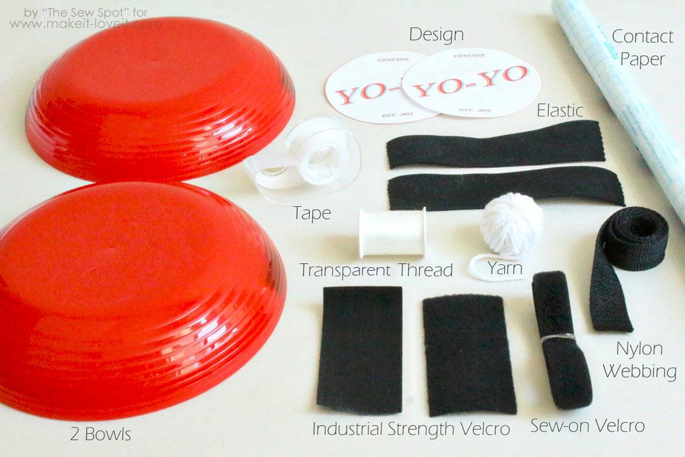 DIY Yo-Yo Costume 8