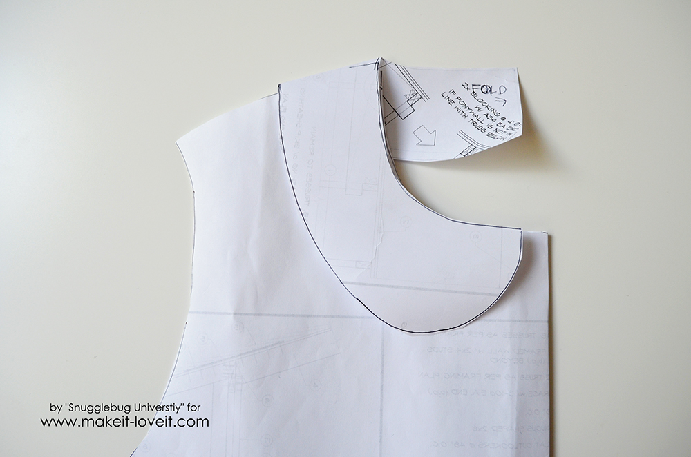 little girls dress coat tutorial (5)