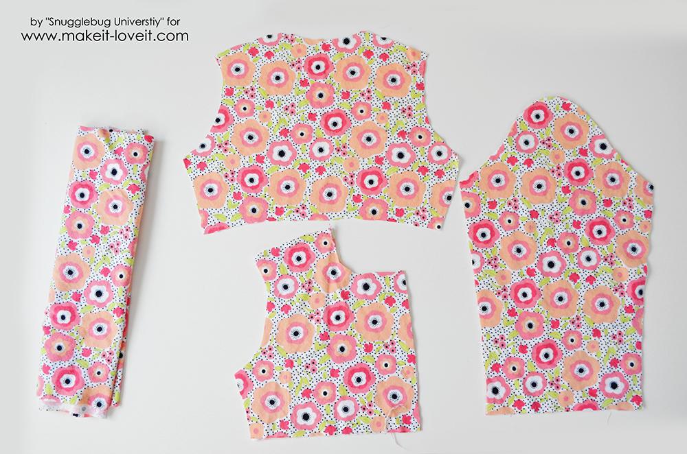 little girls dress coat tutorial (7)