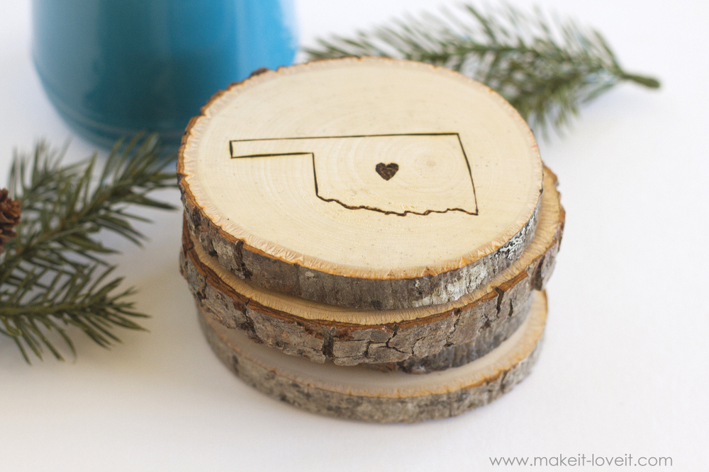 Engraved State Home Coasters 2