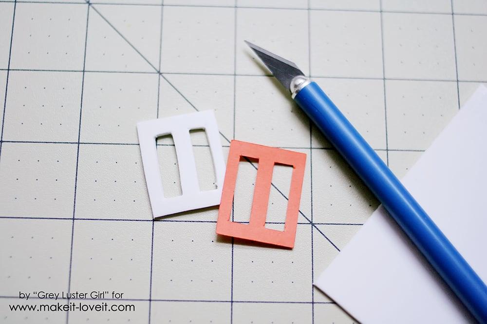 Easy Faux Metal Buckle Hair Bow (3)
