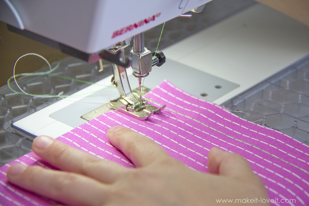 Teaching Kids To Sew, Part 5: Stitch types, sewing on curves, and seam allowances | via makeit-loveit.com