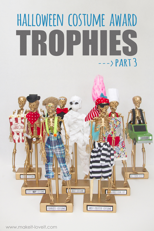 Make your own Halloween Costume Awards --- part 3!!! | via makeit-loveit.com