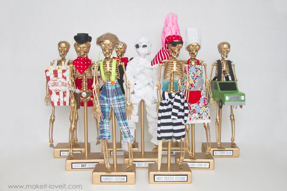 How to make Halloween costume awards