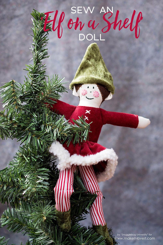 Sew your own Elf On the Shelf doll! | Makeit-loveit.com