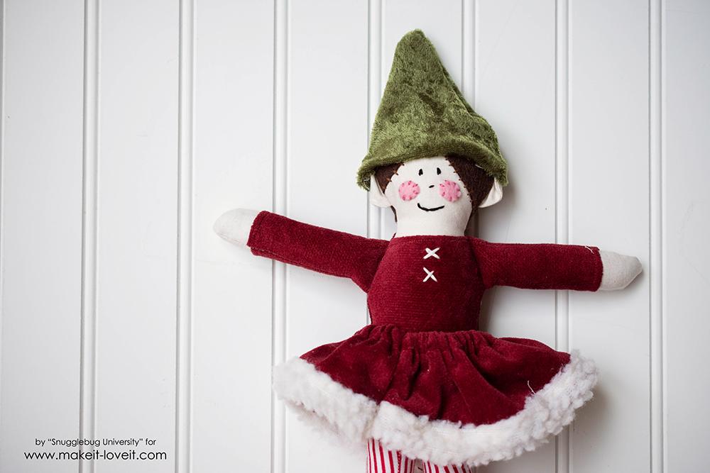 Sew an Elf on a Shelf doll38