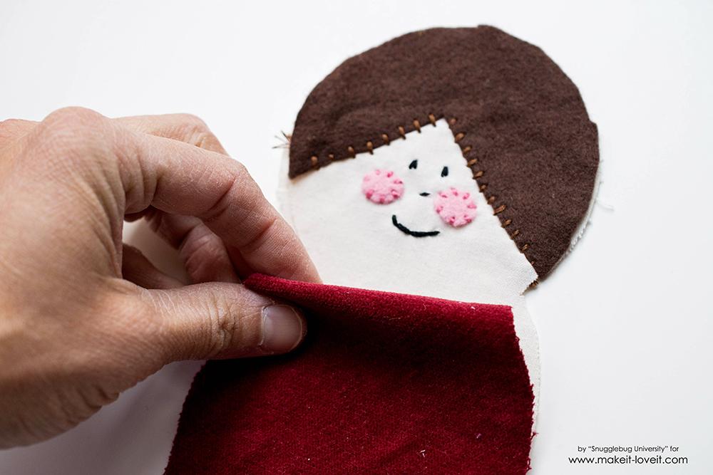 Sew an Elf on a Shelf doll4